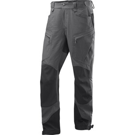Haglöfs Rugged Mountain Pantaloni Uomo, magnetite/true black